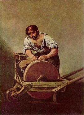 Точильщик Гойя